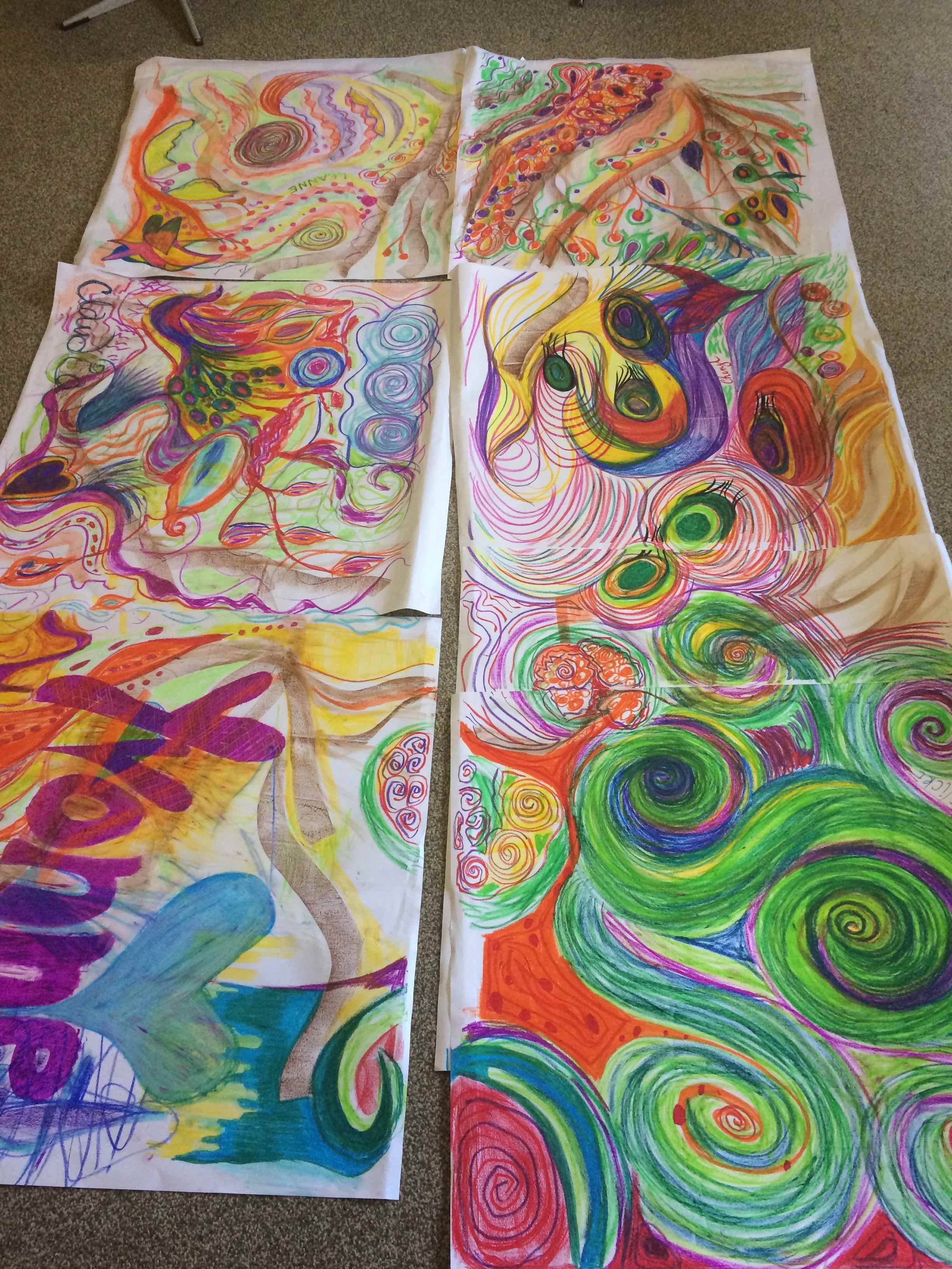 Group Art Therapy, Art Therapy, The creative Space, Gold Coast, art, therapy